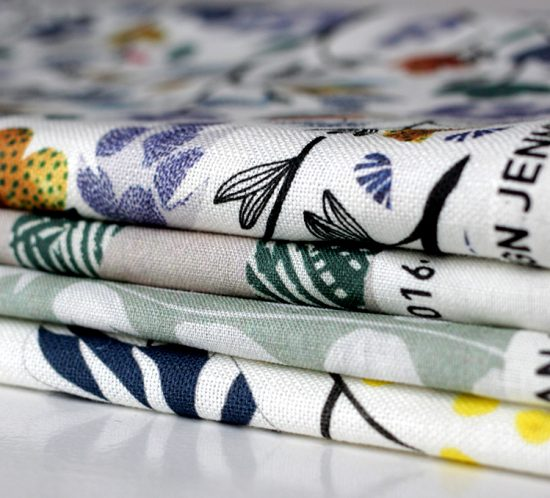 print on textil, the pattern landscape